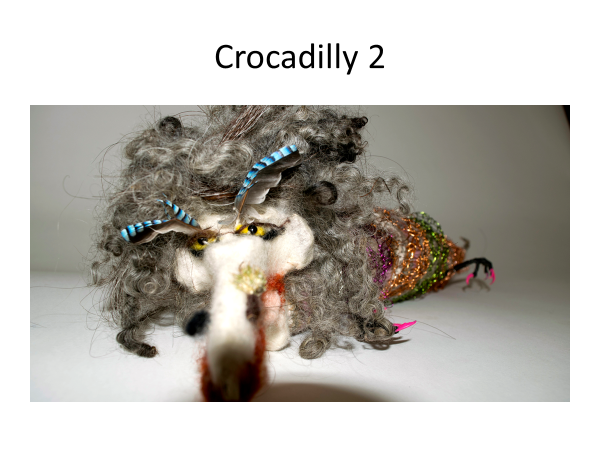 Crocadilly in repose